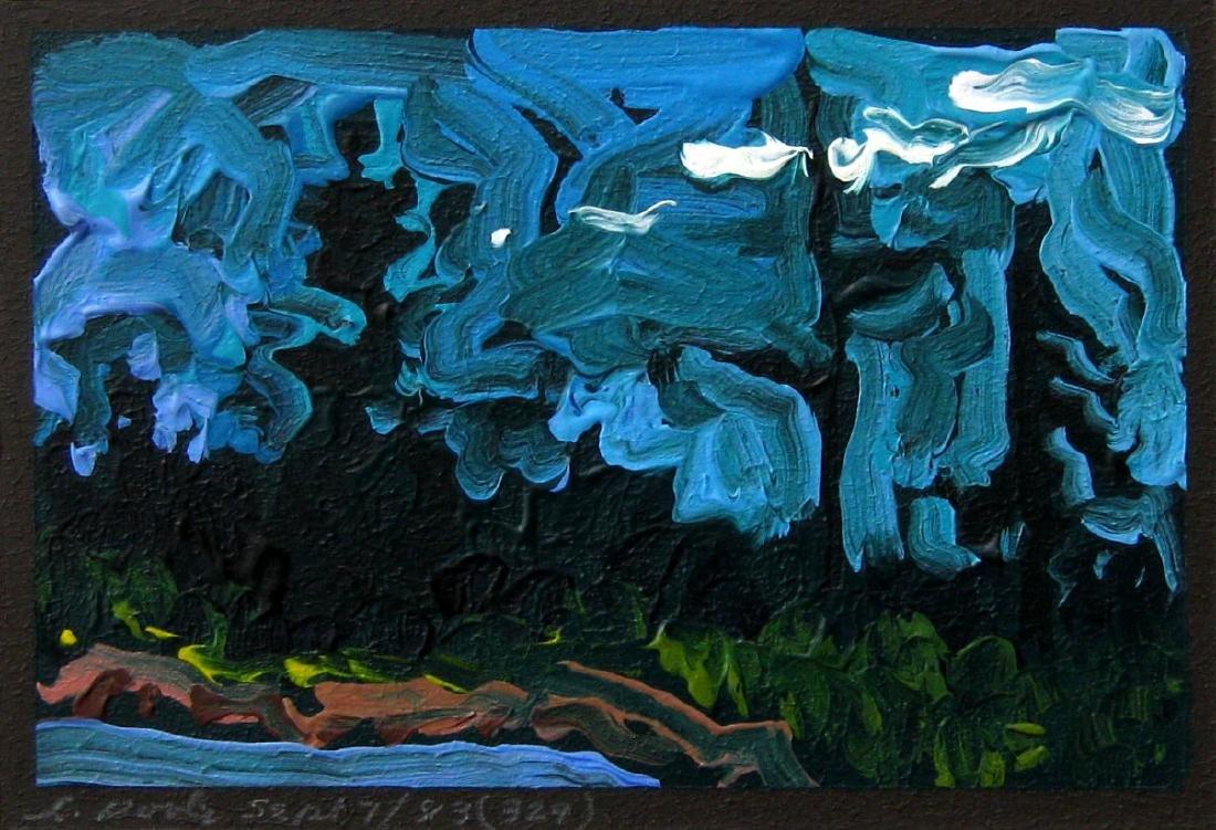 Leslie Poole (1942 - ) Untitled - Landscape