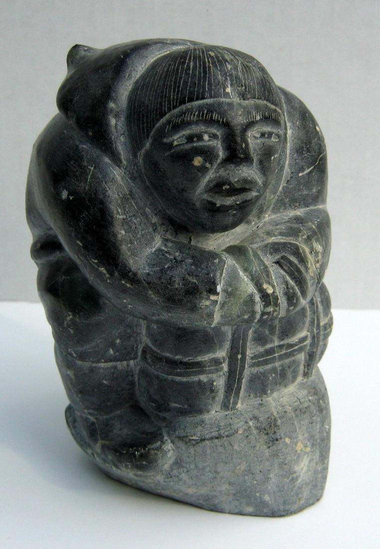 Levi Smith (1927-1986) Inuit Hunter