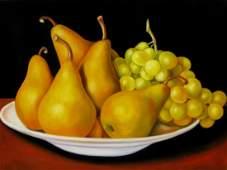 Carmelo Sortino (1939 - ) Two Fruits