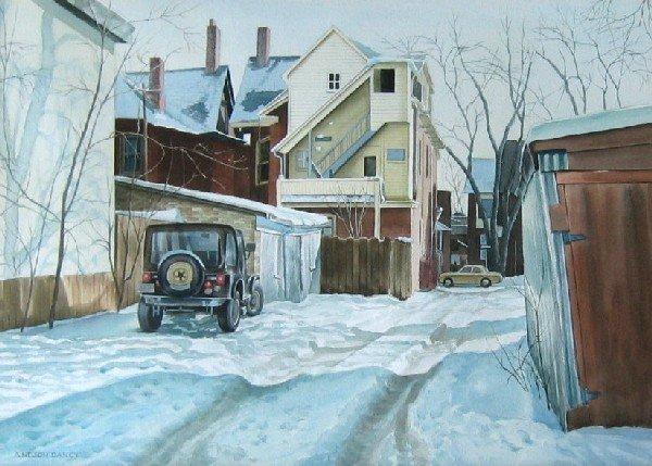 13: Backyards in Winter