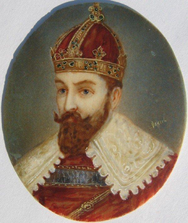 14: Portrait of Man in Crown