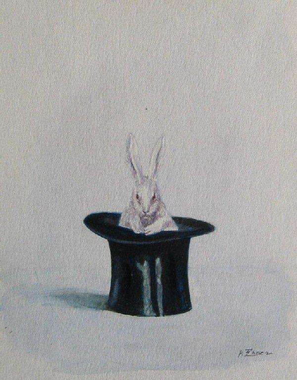 18: Rabbit in Top Hat