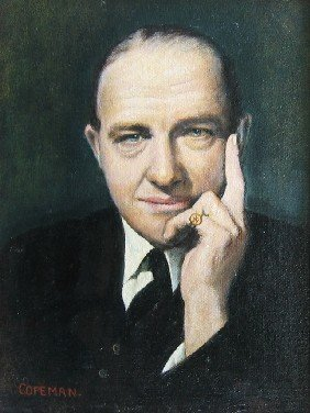 Portrait Of R.A.Butler (former British Foreign Secr