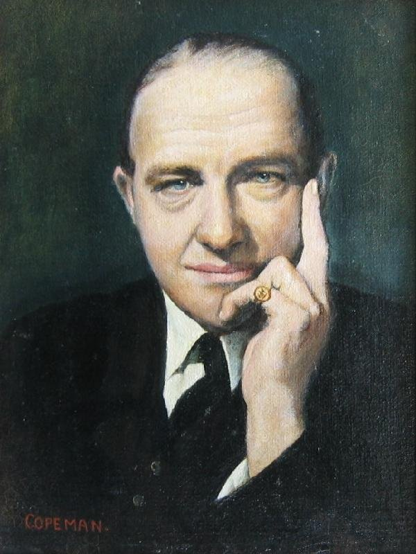 14: Portrait of R.A.Butler (former British Foreign Secr