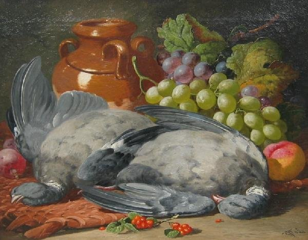3: Still Life with Fruit & Dead Game