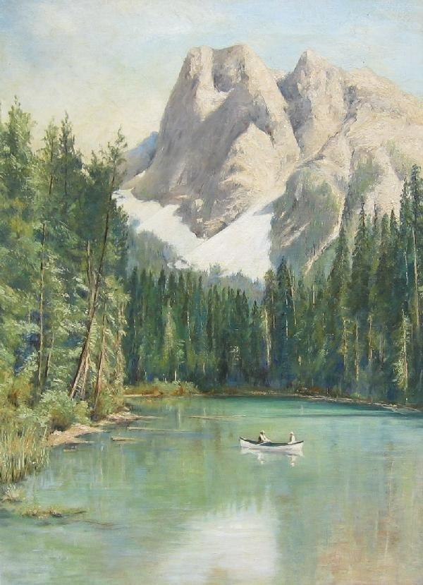 12: Burgess Mountain, Emerald Lake, B.C.