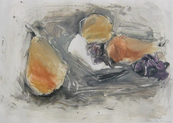 21: Still Life with Pears