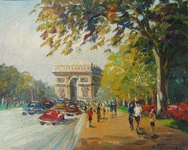 22: Notre Dame; Arc de Triomphe