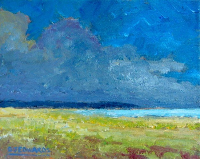 1: Approaching Storm, Mud Bay