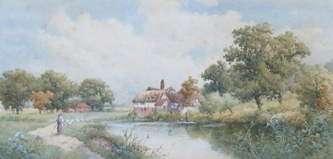 4: Fittlewood Mill, Sussex; Old Homestead, Amberley, Su