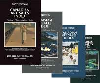 60: 20 Years of Canadian Art Sales Index: 1989-2009