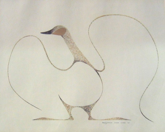 8: Bird with Outstretched Wings