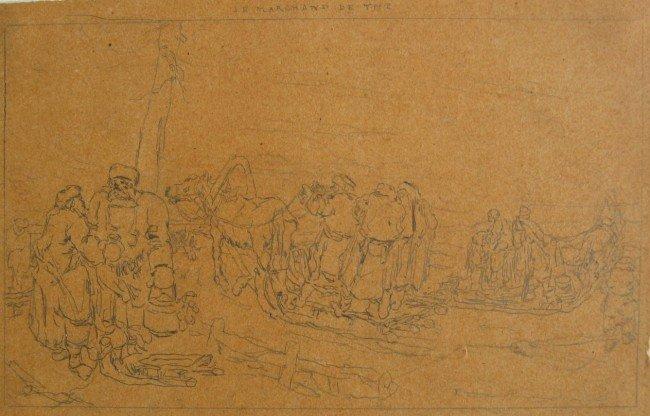 15: Le Marchand de The; Traineau de Siberia