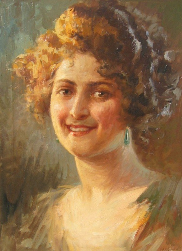21: Portrait of a Young Woman