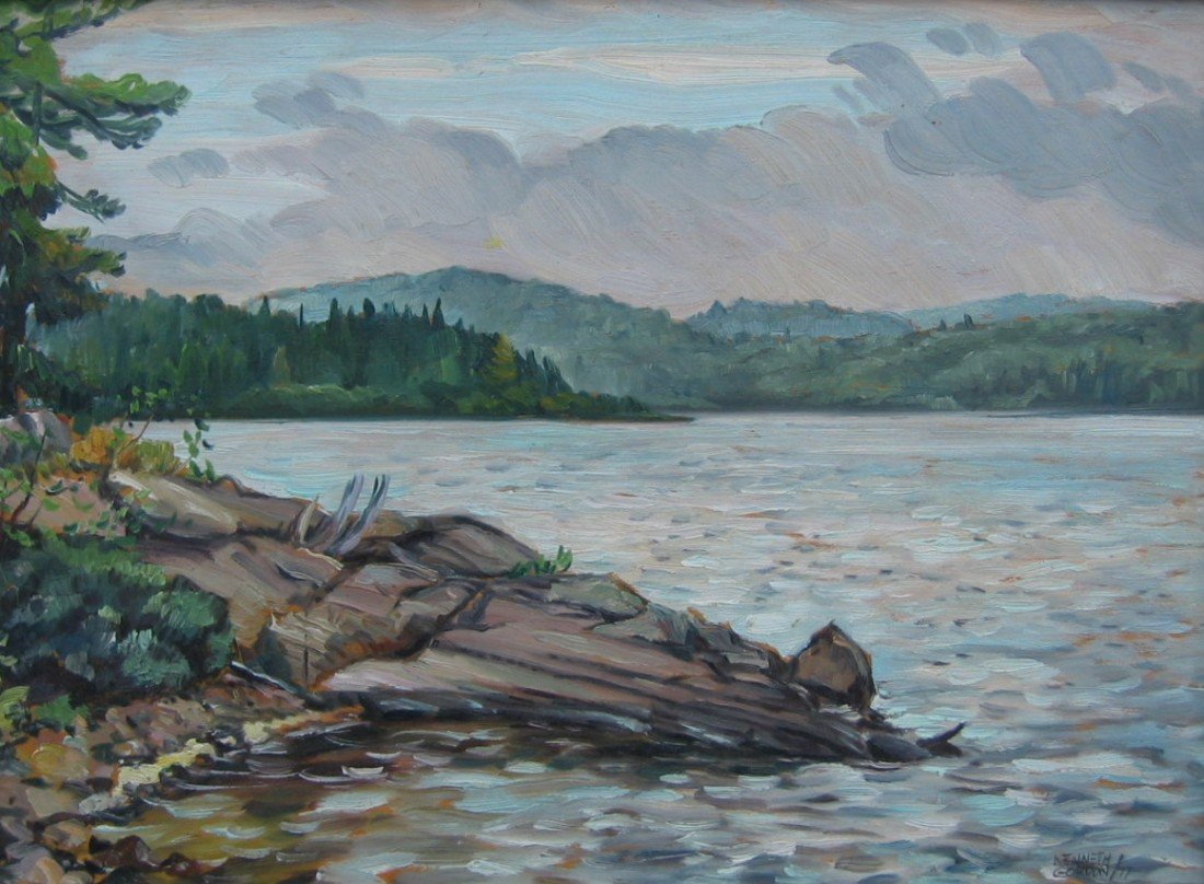 22: Morning, North Tea Lake, Algonquin