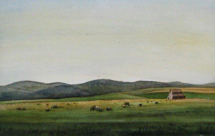 9: Grazing Sheep