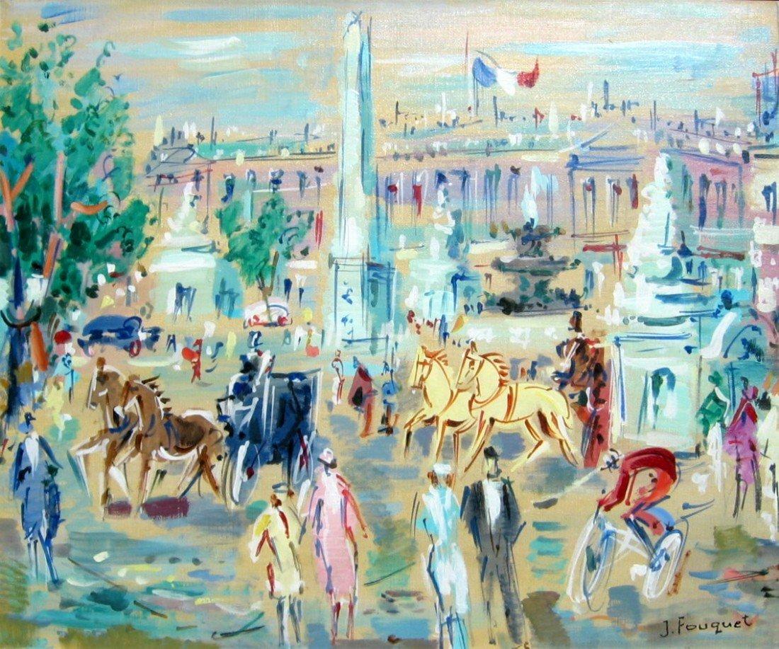 24: Untitled - Busy Paris Street Scene