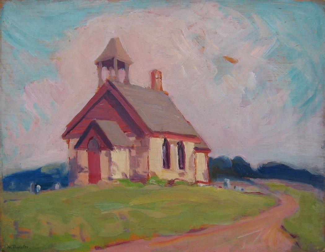 64: Rural Saskatchewan Church