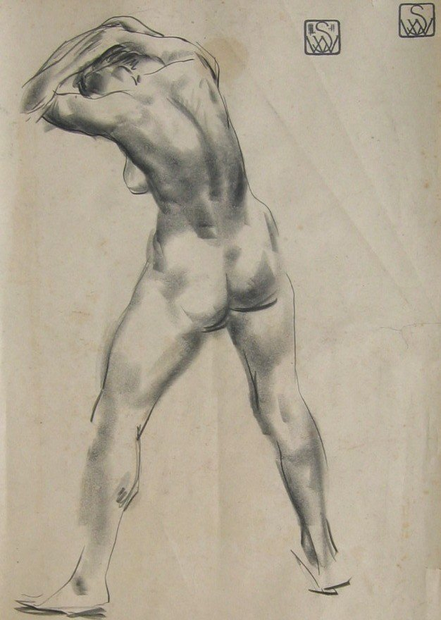 49: Standing Female Nude