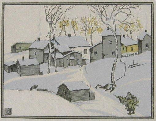 6: Village in Winter