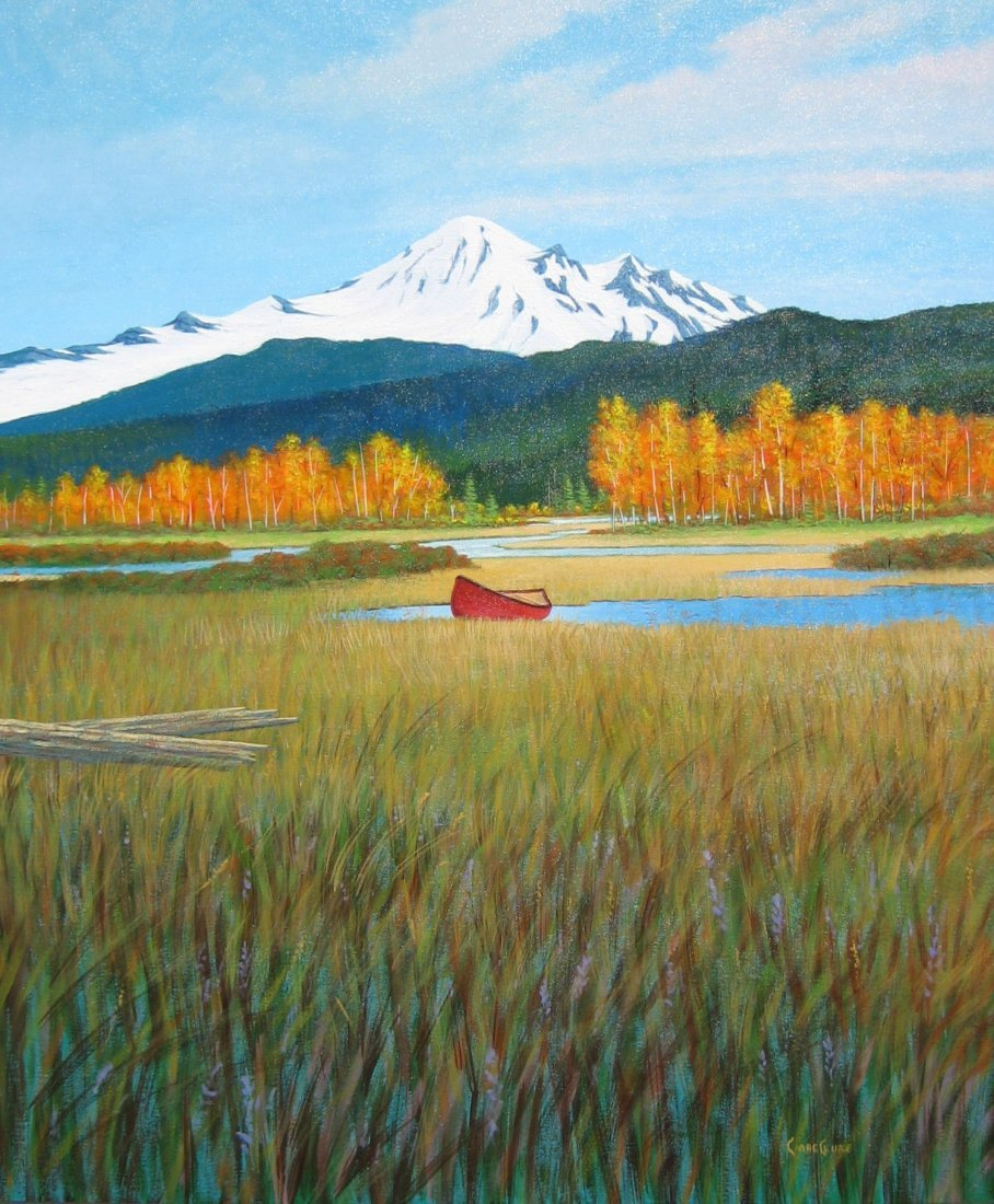 14: The Red Canoe