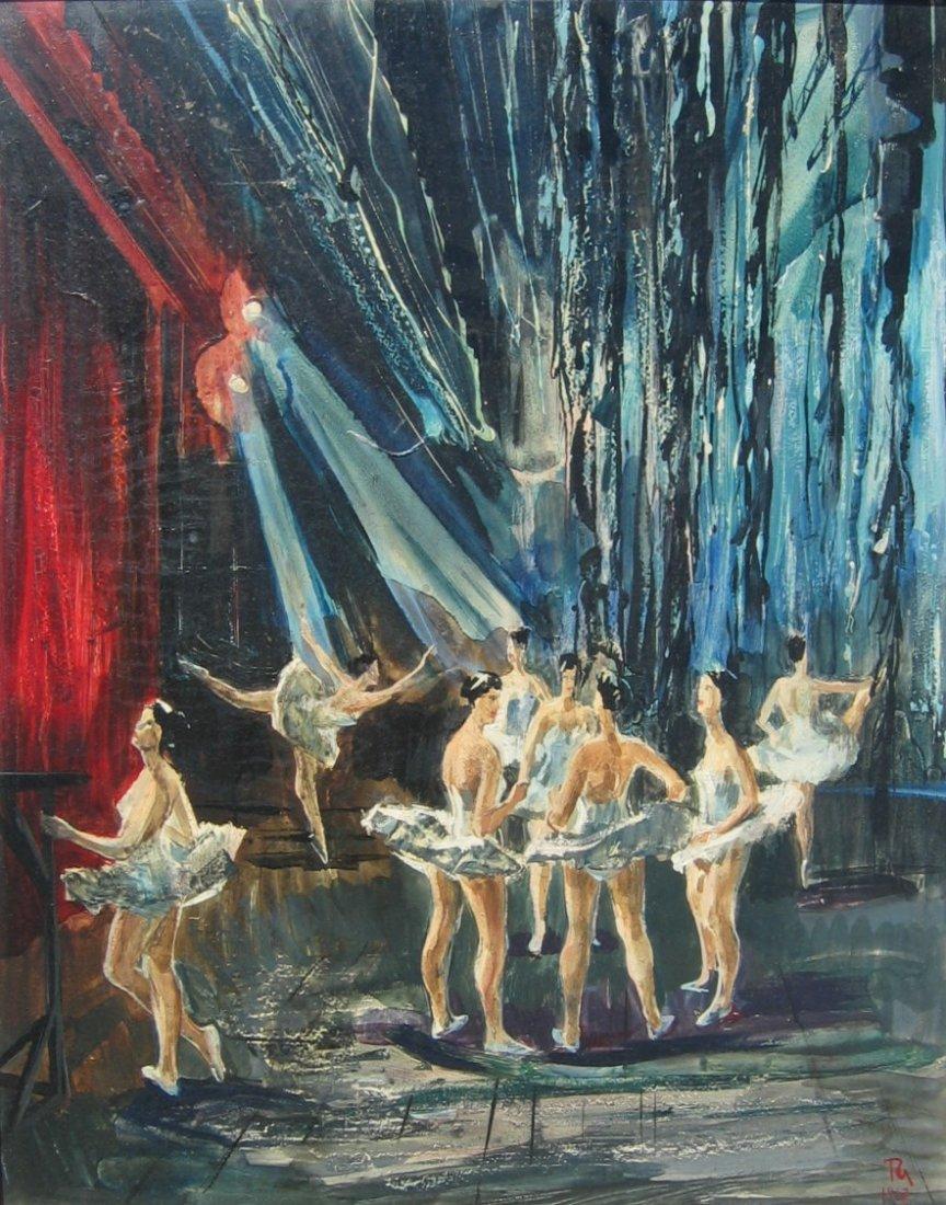 25: Ballet Rehearsal