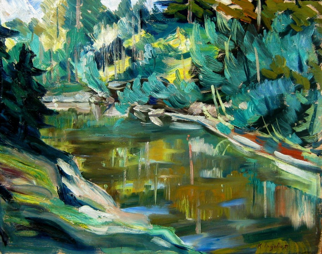 24: River Landscape