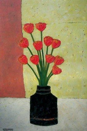 1: Yellow & Red Tulips II
