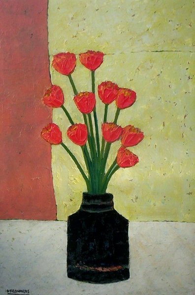 1: Yellow & Red Tulips II