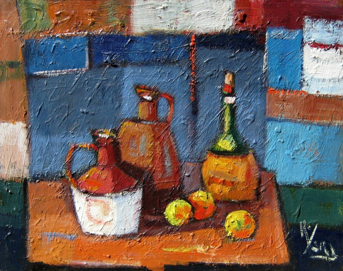 Still Life with Jugs and Fruit