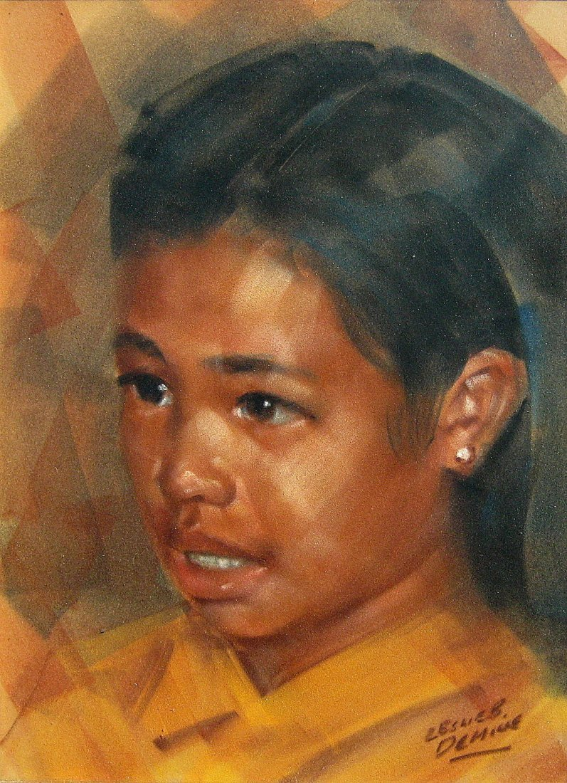 Portrait of an Asian Girl