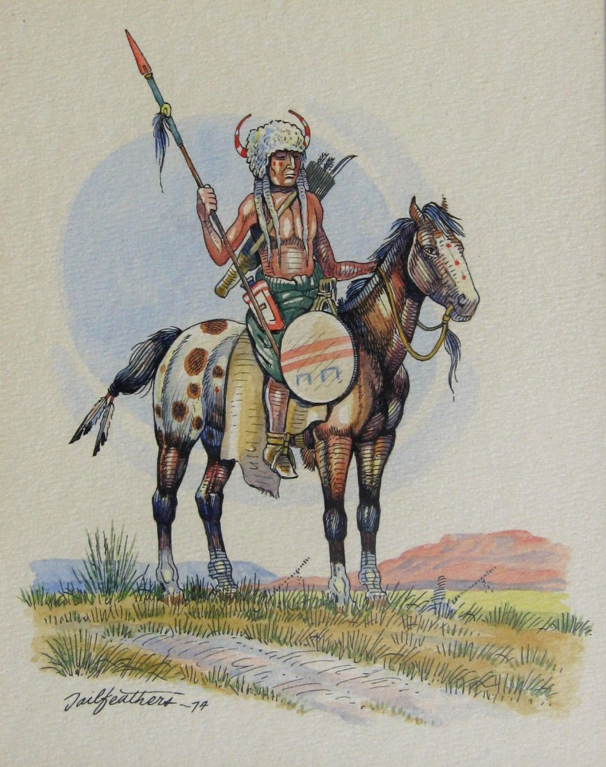 Warrior on Horseback
