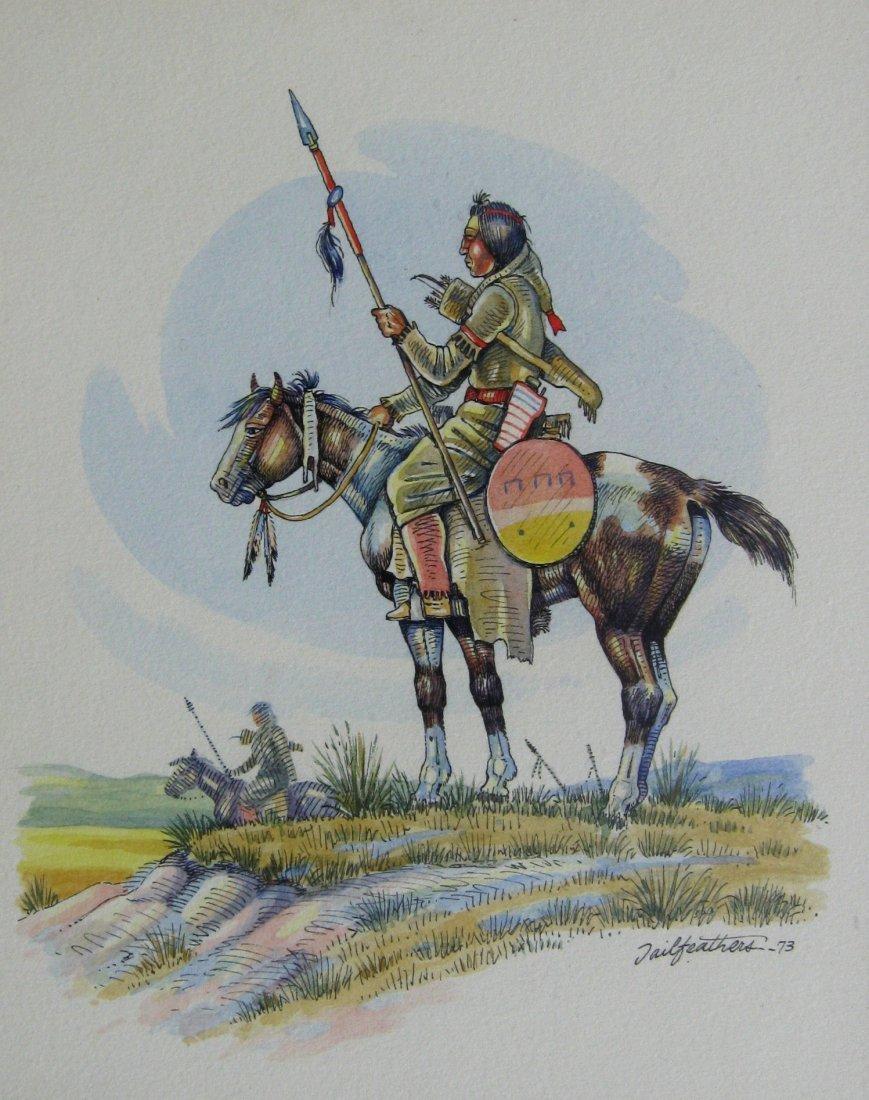 Brave on Horseback