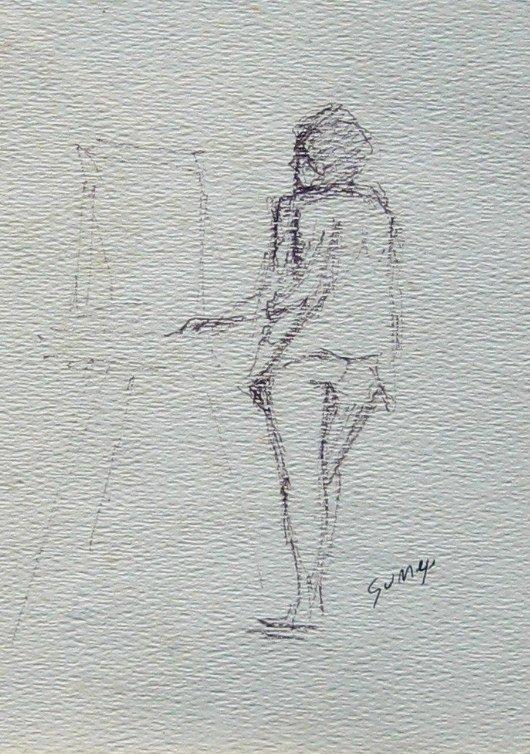 Artist at Easel