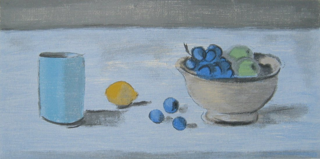 Still Life with Fruit, Bowl and Mug