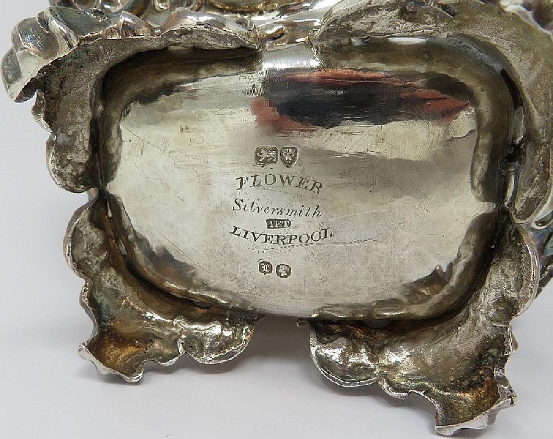 A VICTORIAN SILVER TEA CADDY, JOHN EDWARD TERREY, - 2