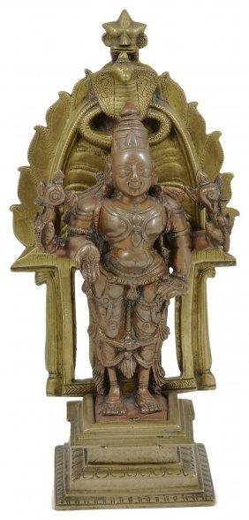 A Shrine Depicting Vishnu, South India, 19th Century