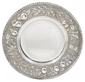 An Italian Silver Fruit Dish, Early 20th Century