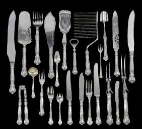 A Set Of Canadian Table Silver, Henry Birks & Sons,