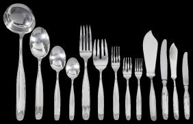 A Set Of Italian Table Silver, Clementi Dì Giovanni