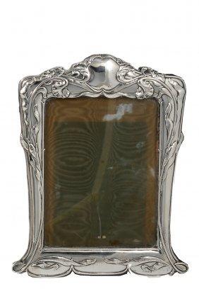 An Edwardian Silver-mounted Photograph Frame, E. Mander