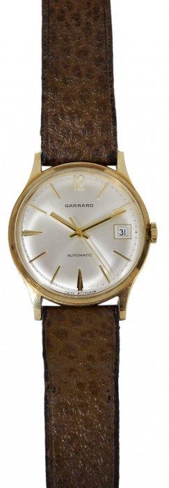 Garrard: A Gentleman's Gold Wristwatch, Circa 1970
