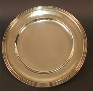 Round Tray Tiffany & Co., 925 Sterling Silver