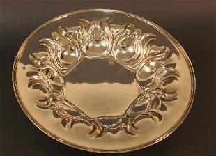 Art Nouveau Bowl, 925 Sterling Silver