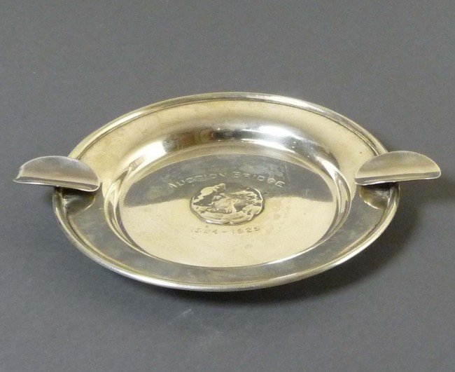 14: Ashtray 925 Sterling silver