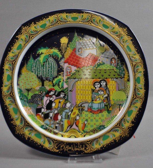 60: Christmas plate 1983, Rosenthal Studio Linie