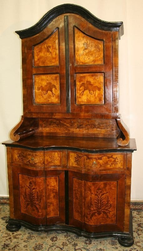445: Fine Sideboard with Top