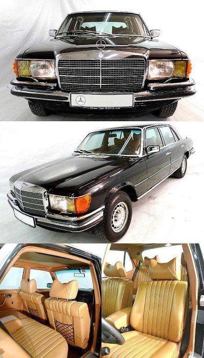 2: Mercedes-Benz 450 SEL 6.9 TOP CONDITION, 165,000 km,
