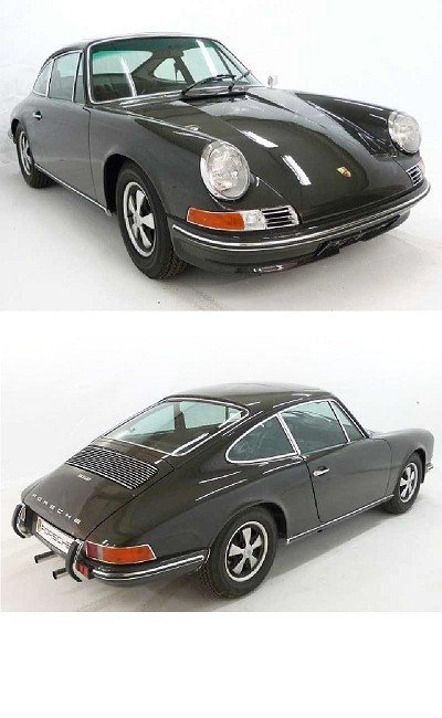 3: Porsche 911 E Coupe 2.0 slate grey in exceptional co