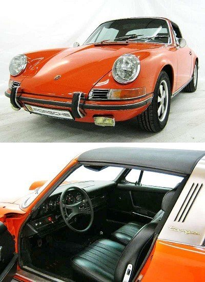 5: Porsche 911 2.2 S Targa with matching number